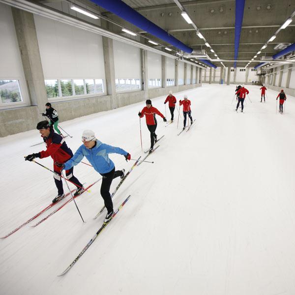 Oberhof Skihalle Der Skihalle Oberhof