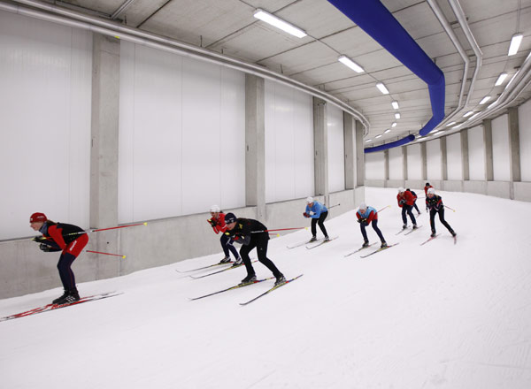Oberhof Skihalle Video Skihalle Oberhof